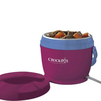 Crock Pot Crock-Pot Lunch Crock Food Warmer - Magenta & Sky Blue