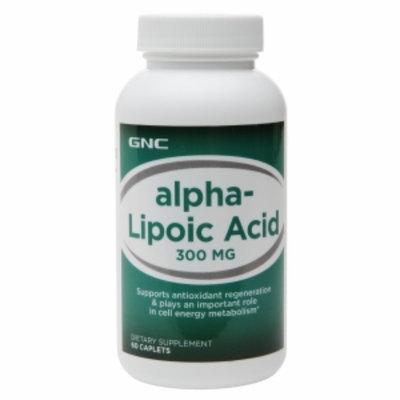 Gnc GNC Alpha Lipoic Acid 300, Caplets, 60 ea