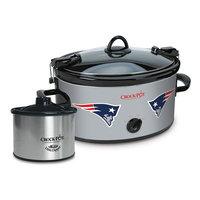 Crock-Pot Cook & Carry New England Patriots 6-Quart Slow Cooker Set, Multi/None