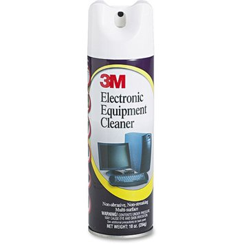 3M Antistatic Electronic Equipment Cleaner, Oil/Wax-Free, 10 oz. Aerosol
