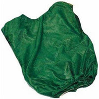 Youth Green Mesh Game Vests - Set Of 6