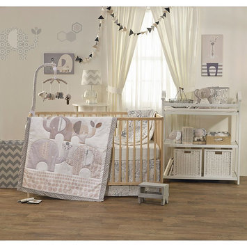 Living Textiles Lolli Living 4-Piece Crib Set - Naturi