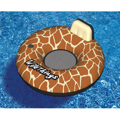 International Leisure Products Inc. Wildthings™ 40-in Giraffe Inflatable Pool Float