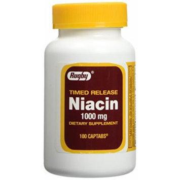 Niacin Time Release 1000mg 100ct.