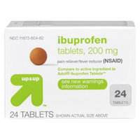 up & up Ibuprofen Pain Relief Tablet 24-pk.