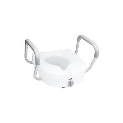 Apex-carex Healthcare Carex EZ Lock Raised Toilet Seat with Arms