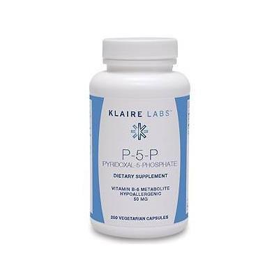 Klaire Labs - P-5-P 50 mg 250 caps
