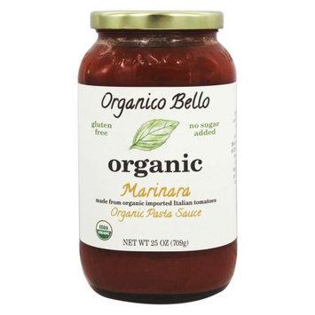 Organico Bello Organic Pasta Sauce Marinara 25 oz