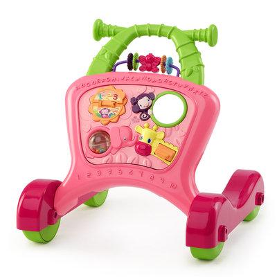 Bright Starts Sit to Stride Activity Walker - Pretty in Pink