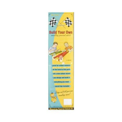 1720 Build Your Own Mousetrap Racer Kit