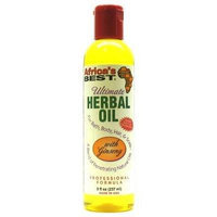 Africa's Best Ultimate Herbal Oil 8 oz. (3-Pack) with Free Nail File