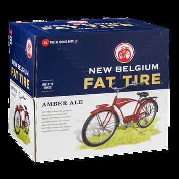 New Belgium Fat Tire Amber Ale - 12 CT