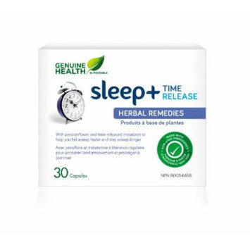 sleep+ Time Release (30Capsules) Brand: Genuine Health