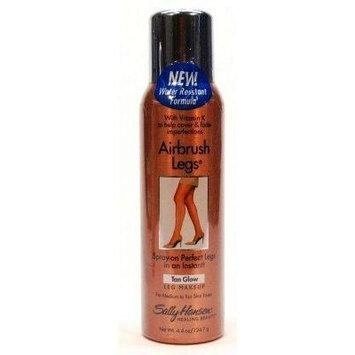 Sally Hansen Airbrush Legs Tan Glow 4.4 oz. (3-Pack) with Free Nail File