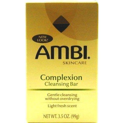 Ambi Fade Soap Complexion 3.5 oz. (3-Pack) with Free Nail File