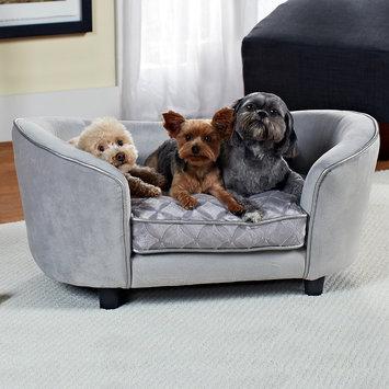 Enchanted Home Pet Quicksilver - No Pillow - Silver