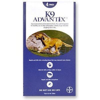 K 9 Advantix K9 Advantix 891962001507 Advantix Dog Bu 56-100 no. 4Pk
