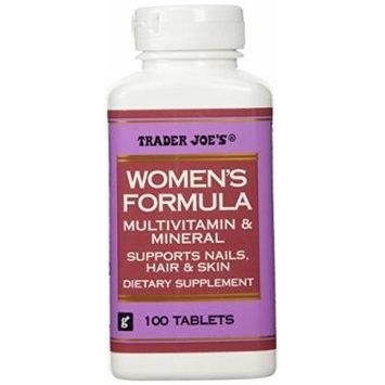 Trader Joe's Women's Formula Multivitamin & Mineral, 100tablets