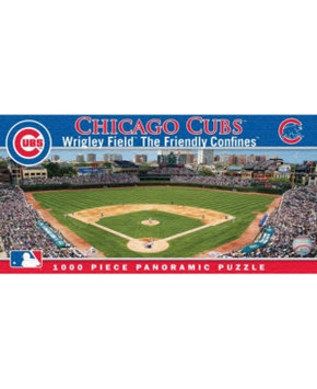 MASTERPIECES 1,000 Piece MLB Chicago Cubs Panoramic Puzzle - MASTERPIECES PUZZLE COMPANY