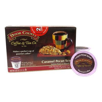 Door County Coffee & Tea Co. Caramel Pecan 12-pk. Single Serve Cups