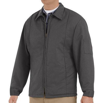 Red Kap Unisex Charcoal Twill Jackets & Coats Panel Jacket