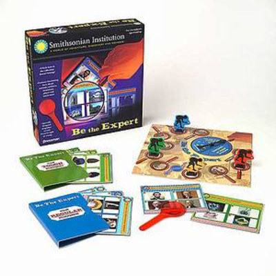 Pressman Toy Smithsonian Institution Be The Expert Game Ages 8 and up, 1 ea
