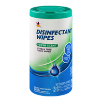 Ahold Disinfectant Wipes Fresh Scent - 75 CT