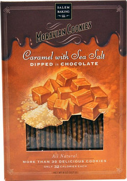Salem Baking All Natural Dipped in Chocolate Cookies Caramel with Sea Salt 8 oz