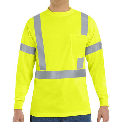 Red Kap Safety Green High Visibility Reflective T-Shirt