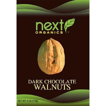 Next Organics Next Organic Walnuts Dark Chocolate Covered, 4-Ounce (Pack of 3)