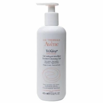 Avene TriXera Selectiose Emollient Cleansing Gel, 13.52 fl oz
