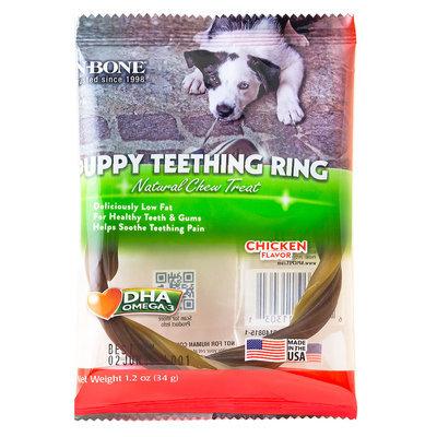 N-bone Nbone 113031 Puppy Teething Rings In Chicken Single