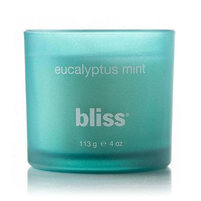 bliss Eucalyptus Mint 4-oz. Small Jar Candle