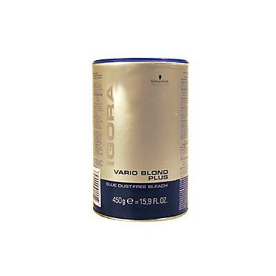 Schwarzkopf Igora Vario Blond Plus Blue Dust-Free Bleach 450g/15.9oz