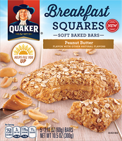Quaker® Breakfast Squares Peanut Butter Bars