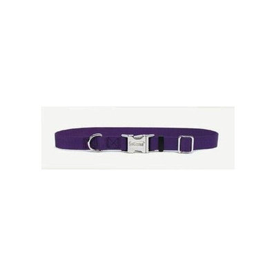 Coastal Pet Adjustable Nylon Dog Collar with Metal Buckle Size: 0.8