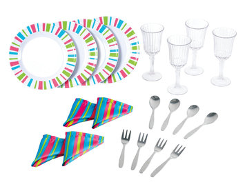 Playgo Ltd My First Kenmore - 20 Piece Dinnerware Set by PlayGo