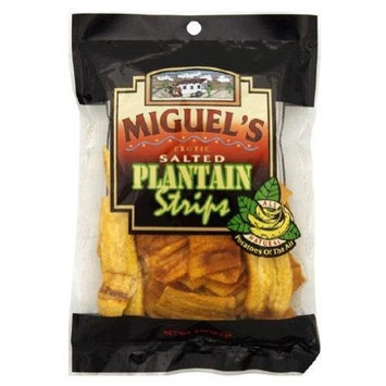 Miguels, Plantain Strips Salted, 3-Ounce (18 Pack)