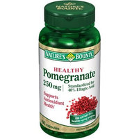 Nature's Bounty Pomegranate, 250mg, 60 Capsules (Pack of 3)