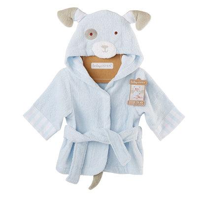 Baby Aspen Animal Terrycloth Robe, Infant Unisex, Size: 0-9 MONTHS, Blue