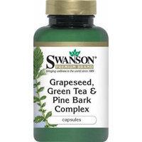 Swanson - Premium Grapeseed, Green Tea & Pine Bark Complex (60 Capsules) 3 Bottles