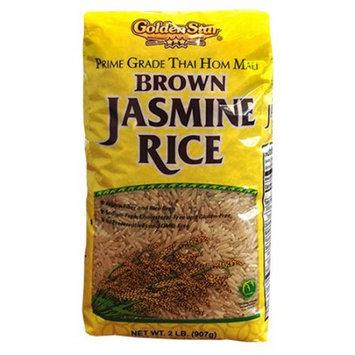 Golden Star Trading Co Golden Star Brown Jasmine Rice, 2 lbs