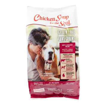 Chicken Soup Grain Free Beef and Legumes Recipe Dry Dog Food