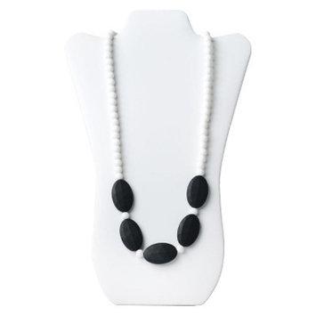 Nixi by Bumkins Sasso Teething Necklace - White/Black