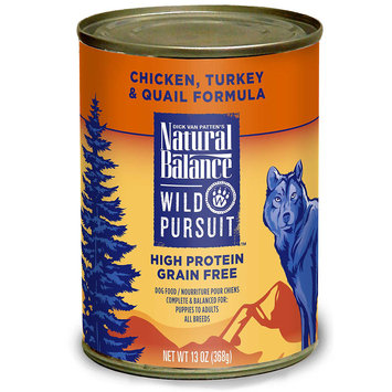 Phillips Feed & Pet Supply Natural Balance Wild Pursuit Chicken Can Dog Food