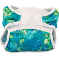 Bummis Swimmi Cloth Diapers, Turtles, Medium (15-22 lbs) (Discontinued by Manufacturer)