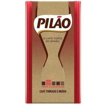 Pilao Pilão Roasted and Ground Coffee - 17.6 oz - Café Pilão Torrado e Moído - 500g