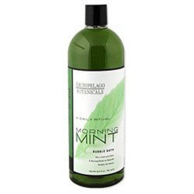 Archipelago Botanicals Morning Mint Bubble Bath 32.5 Oz