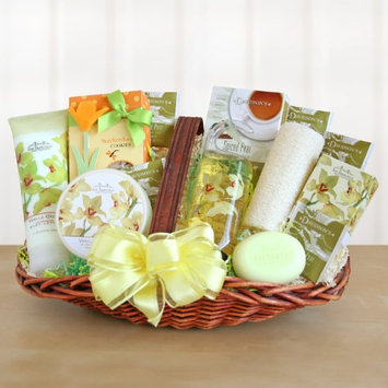 Givens and Company Elegant Orchid Spa Sensation Gift Basket