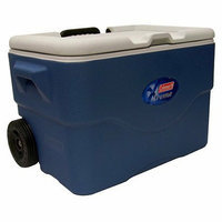 Coleman 50 Quart Wheeled Party Stacker Cooler
